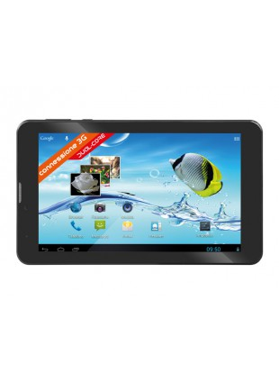 """TABLET ANDROID 7 """" POLLICI 3G WIFI 4GB DUAL CORE TREVI TAB 7 S8 NERO 0T07GS00"""