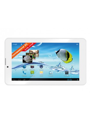 """TABLET ANDROID 7 """" POLLICI 3G WIFI 4GB DUAL CORE TREVI TAB 7 S8 BIANCO 0T07GS01"""