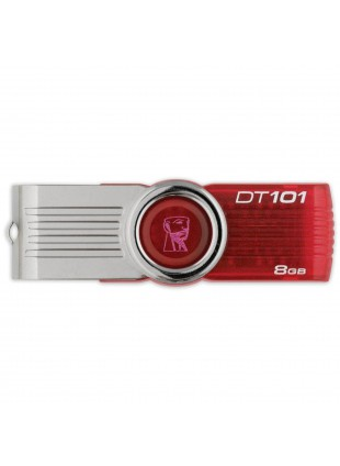PEN DRIVE PENNA CHIAVETTA USB 8GB KINGSTON DATA TRAVELER PENDRIVE DT101G2/8GB