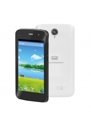 CELLULARE SMARTPHONE ANDROID 4 POLLICI 4.2 DUAL CORE WIFI 3G TREVI 4B 4GB BIANCO