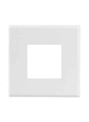 Faro Faretto Led Pannello Incasso Bianco 7W Quadrato PAN INTERNATIONAL INC1153