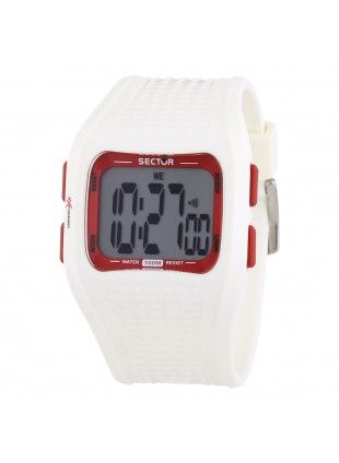 Orologio SECTOR EXPANDER STREET R3251172015 in Silicone Digitale in Gomma