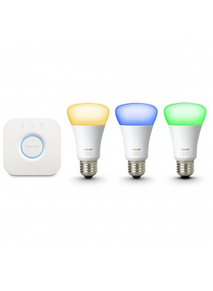 Philips Hue Ambiance starter kit E27 3 Lampade Colorate Wireless